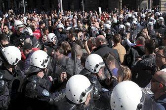 صربستان بار دیگر شاهد تظاهرات ضد دولتی است