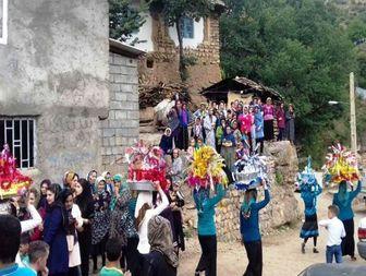 جشن عروسی سنتی در دهکده کوهستانی نیچکوه بخش کجور +تصاویر
