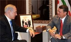 نتانیاهو با عبدالله دوم در امان دیدار کرد