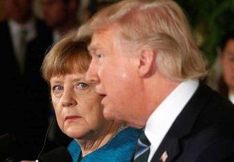 انتقاد شدید مرکل از ترامپ