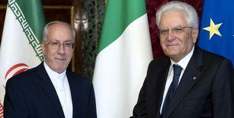 آغاز فعالیت سفیر جدید ایران در رم