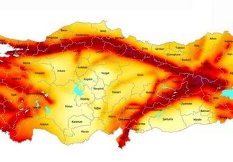 ترکیه در چنبره زلزلهها