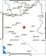 زلزله ۴.۱ ریشتری ورزقان خسارتی نداشت