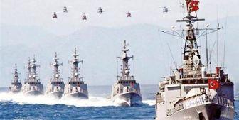 برگزاری رزمایش بزرگ نیروی دریایی ترکیه در اژه و مدیترانه