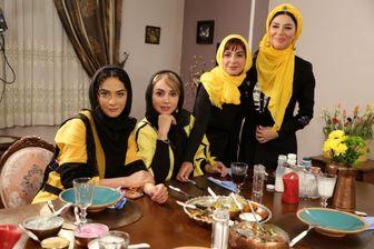 دورهمی خانم های بازیگر برای صرف یک «شام ایرانی»/ تصاویر