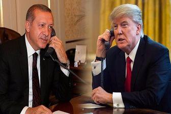 گفتگوی تلفنی اردوغان و ترامپ درباره «منطقه امن» در شمال سوریه