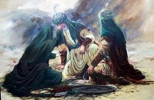 روایت زندگی حضرت علی(ع) و حضرت زهرا(س) در قاب نقاشی