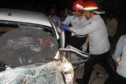 تصادف مرگبار ایسوزو با پراید در مسجد سلیمان
