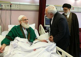 ظریف درگذشت هاشمی شاهرودی را تسلیت گفت