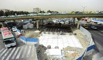 تمام پروژه ساخت زیرگذر گیشا تا پایان سال