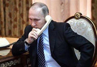 مذاکرات تلفنی پوتین با امیر قطر