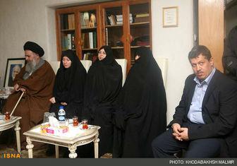 مهدیهاشمی در منزل مرحومحبیبی + عکس