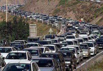 قطعه یک آزادراه تهران_ شمال مسدود است