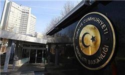ترکیه کاردار سفارت روسیه را احضار کرد