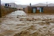 وضعیت سیل زدگان در رودبار جنوب استان کرمان