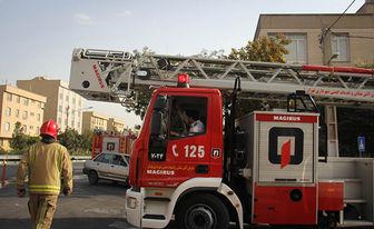 تکمیل شدن زنجیره نردبانهای بلند آتشنشانی تهران