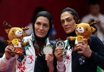 تغییر وزن خواهران منصوریان بعد از جام جهانی