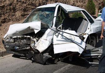 یک کشته و ۳ مصدوم در تصادف خیابان توحید قزوین