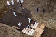 نگهداری صدها قربانی کرونا در نیویورک در کامیونهای یخچالدار