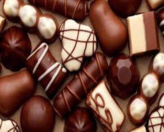 """ده خاصیت """" شکلات خوردن """""""