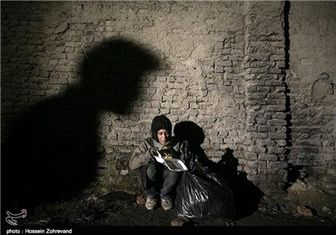 دختری که زیر پونز نقشه تهران گم شد + تصاویر