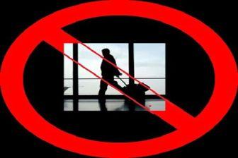 ممنوعیت سفر گردشگری به چین