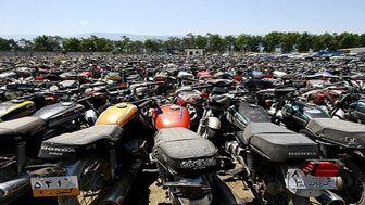 تمدید مهلت ترخیص موتور سیکلتهای رسوبی