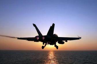 سقوط جنگنده اف ۱۸ آمریکا در خلیج فارس