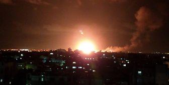 چندین انفجار شهر غز ه را لرزاند