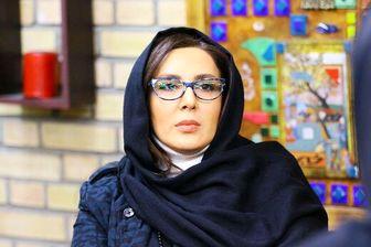 گریه لیلا بلوکات در حین تماشای باب اسفنجی! /عکس