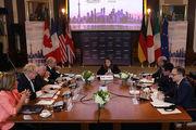 شرط گروه ۷ برای کمک به بازسازی سوریه