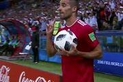 پرتاب اوت محمدی جز لحظات به یادماندنی و ناب جام جهانی شد