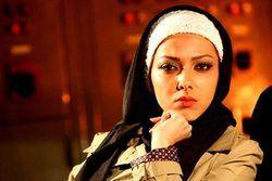 گریم عجیب «لیلا اوتادی» در یک فیلم سینمایی/عکس