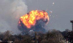 تخلیه هزاران نفر در پی انفجار انبار مهمات در اوکراین