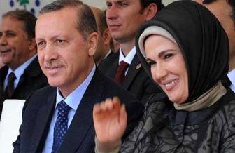 دردسرهای خرید چند هزاران دلاری همسر اردوغان!