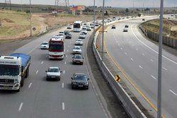 ترافیک نیمه سنگین در برخی مقاطع محور هراز