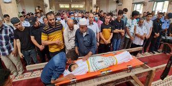 شهادت کودک فلسطینی