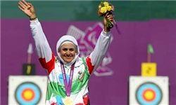 زنی که در تاریخ ورزش ایران تاریخ ساز شد