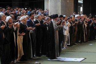 پوشش تصویری نماز باشکوه عید فطر از شبکه یک