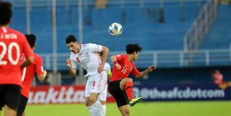 شکست دو بر یک تیم ملی امید ایران مقابل کره جنوبی/ سانترهایی که هدف نداشت