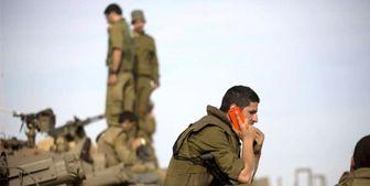 پیام تهدید حماس بر روی گوشی نظامیان صهیونیست