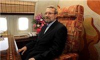 لاریجانی وارد فرودگاه نجف اشرف شد
