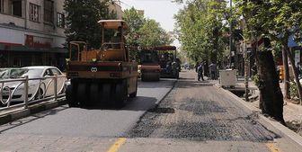 در 45 روز 4هزار و 300 نقطه از سطح معابر پایتخت مرمت شد
