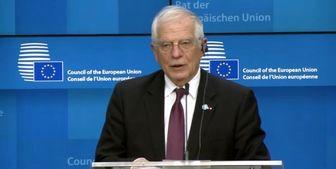بورل مسئول سیاست خارجی اتحادیه اروپا فردا به تهران می آید