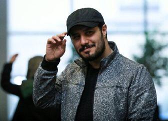 جواد عزتی و آتیشبازی /عکس
