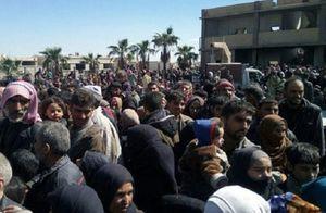 ۱۷ هزار نفر از غوطه شرقی خارج شدند