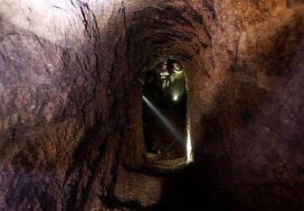 کشف تونل سه طبقه داعش در موصل
