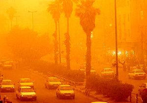 افزایش آلودگی هوا در نیمه غربی کشور